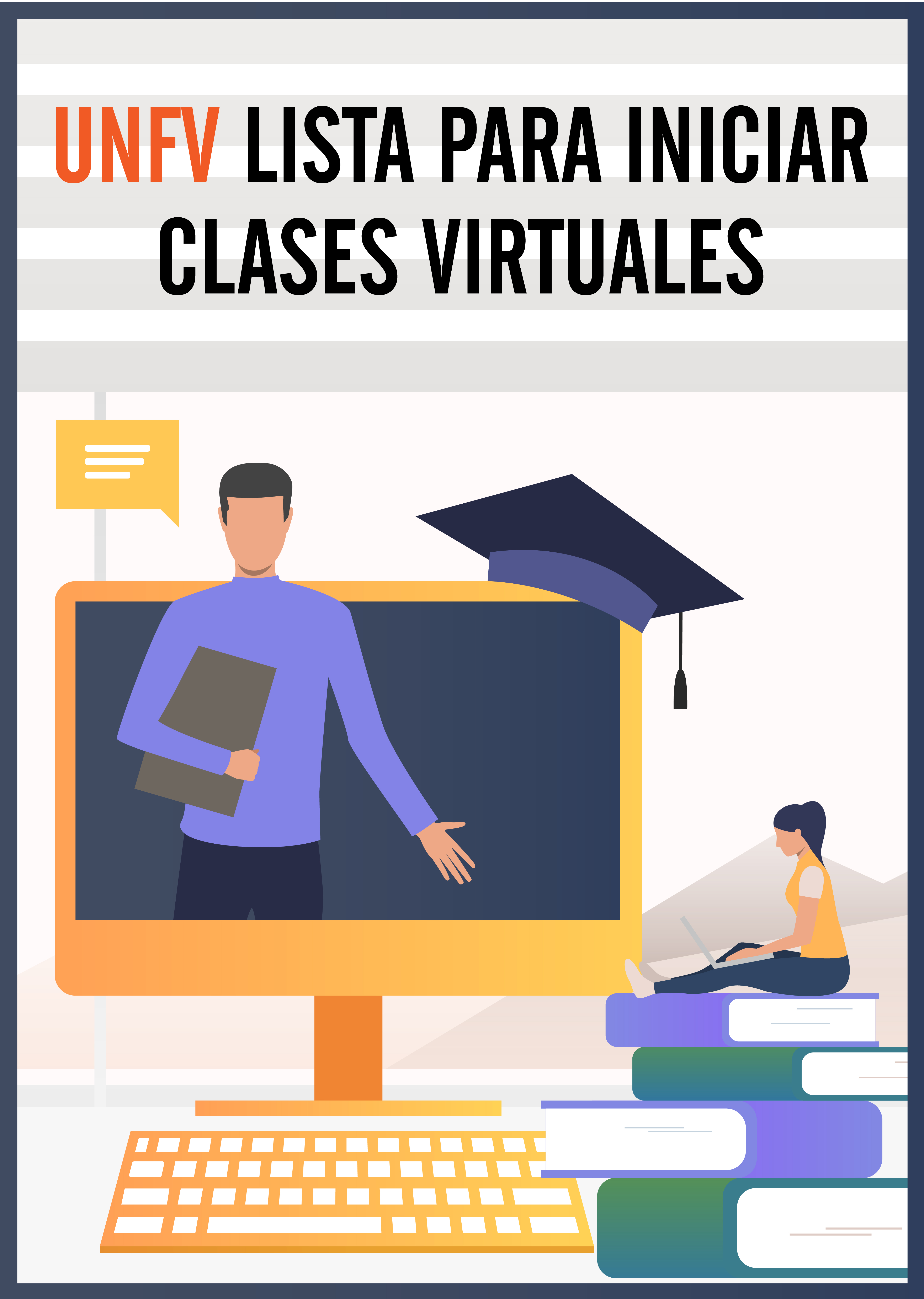 UNFV lista para clases virtuales